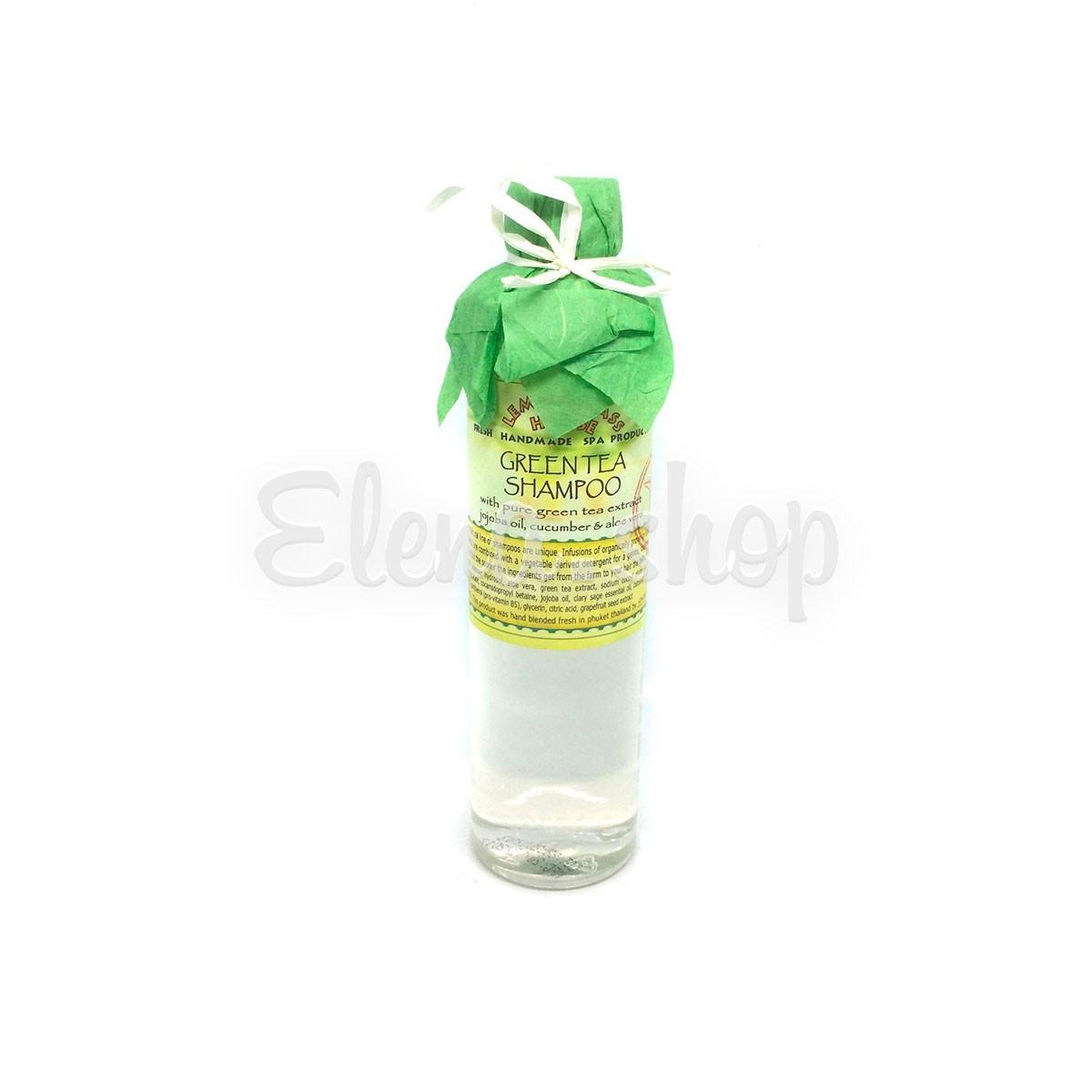 Шампунь для нормальных волос с зеленым чаем Lemongrass House