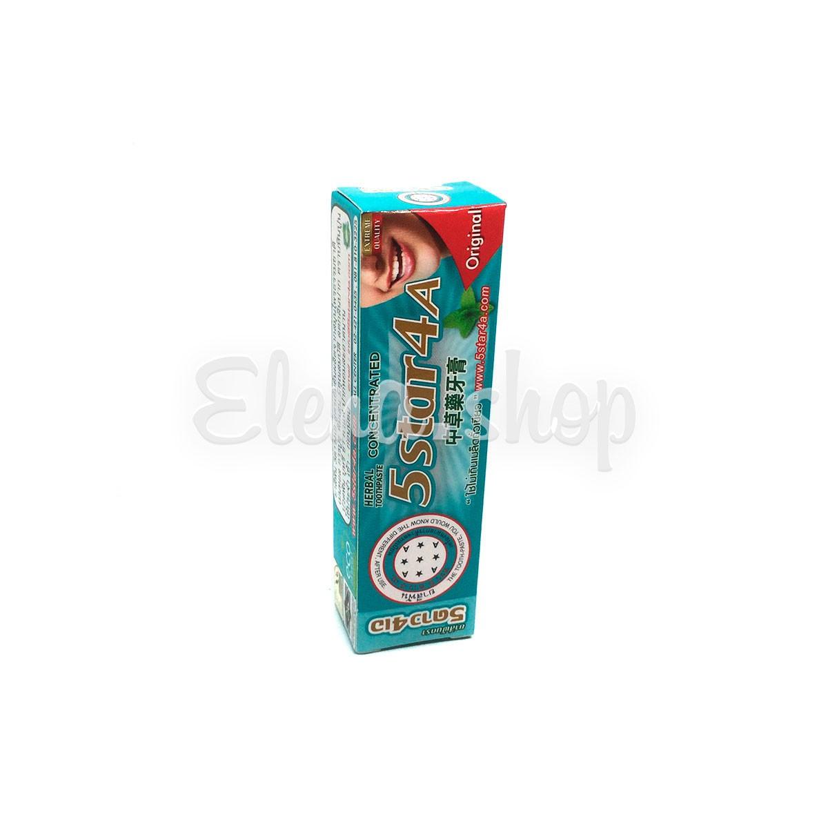 Натуральная отбеливающая зубная паста 5star4a Herbal Concentrated Original