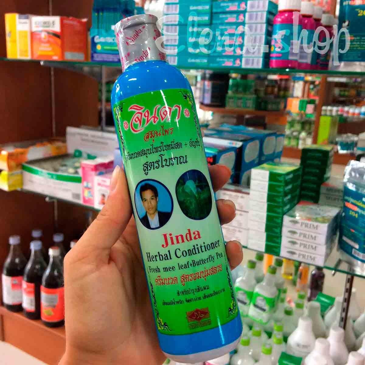 Травяной кондиционер от выпадения волос Jinda