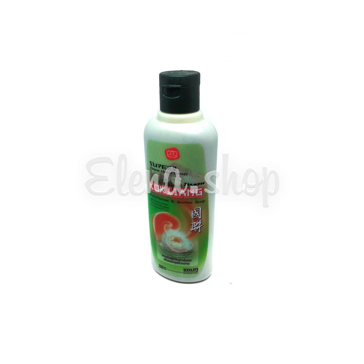 Травяной шампунь от выпадения волос Kokliang
