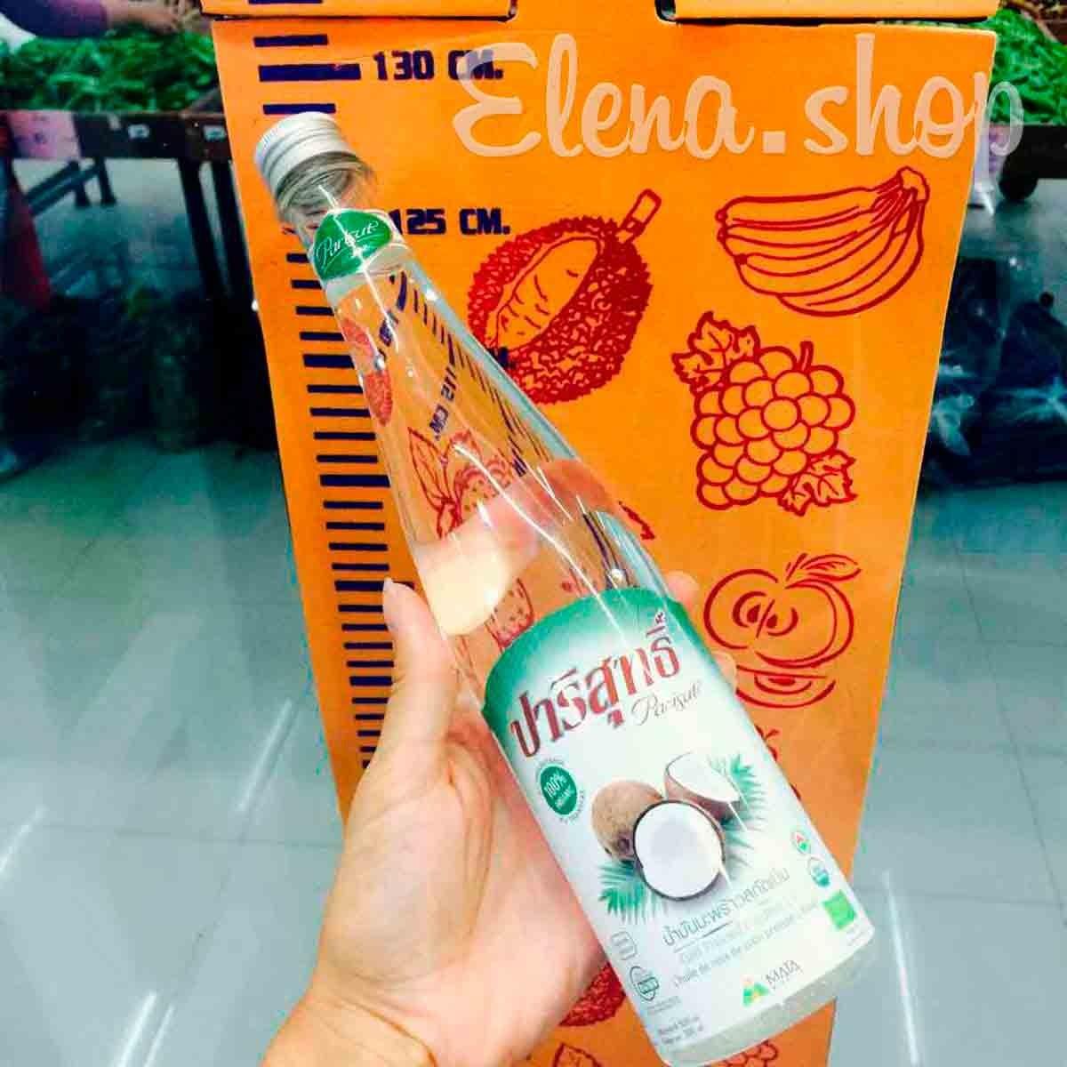 Натуральное кокосовое масло первого холодного отжима Parisut Extra virgin cocnut oil