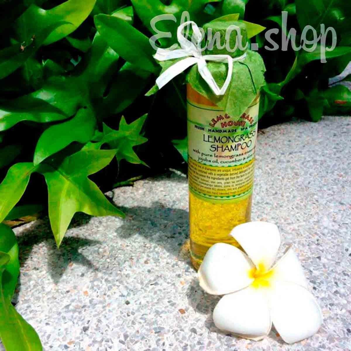 Шампунь для жирных волос с Лемонграсcом от Lemongrass House