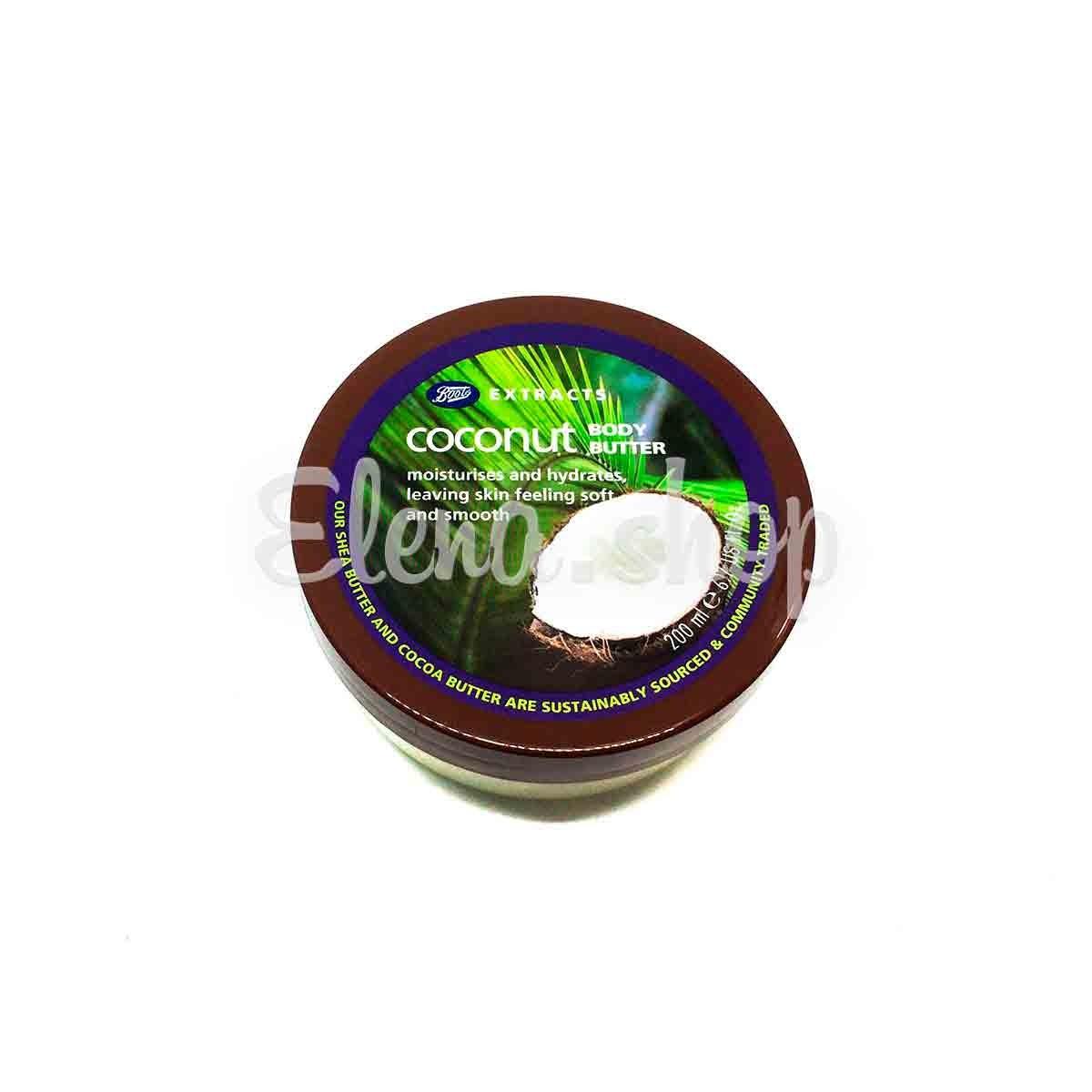 Крем-масло для тела с экстрактом Кокоса от Boots