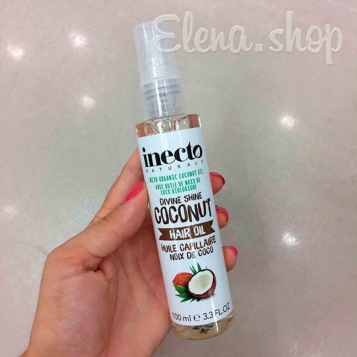 Питательное кокосовое масло для волос Inecto из Boots