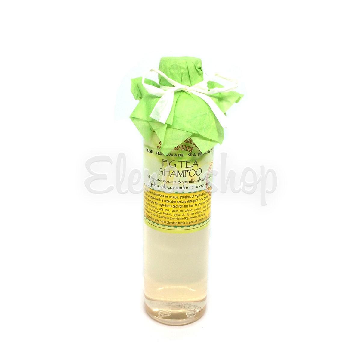 Шампунь для нормальных волос с инжирным чаем Lemongrass House