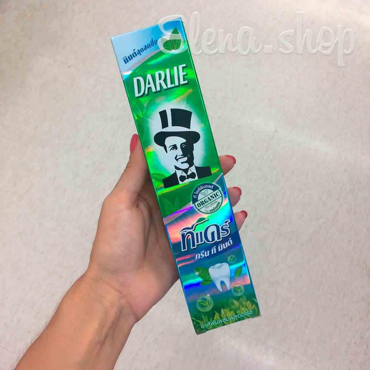 Мятная зубная паста Darlie с экстрактом зеленого чая