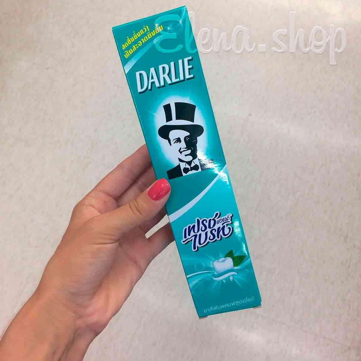 Органическая зубная паста Darlie с мятой