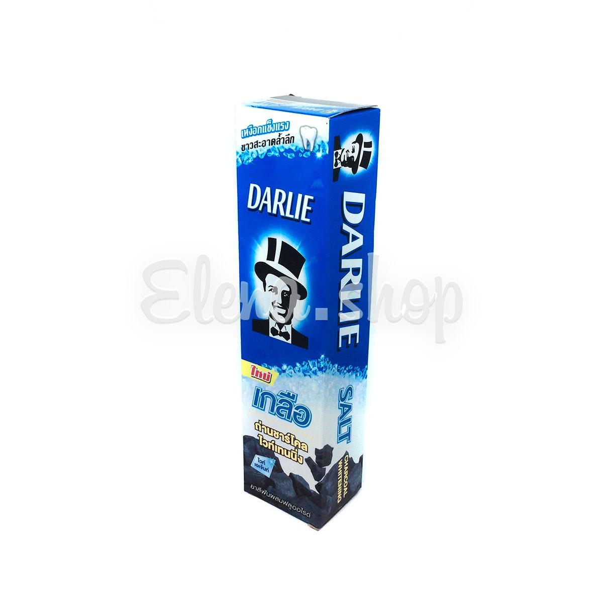 Зубная паста с бамбуковым углем и солью Darlie