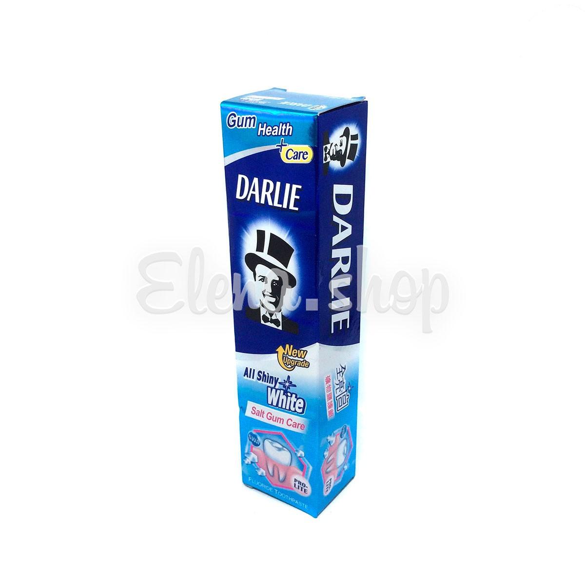 Отбеливающая зубная паста Darlie с проактивной солью