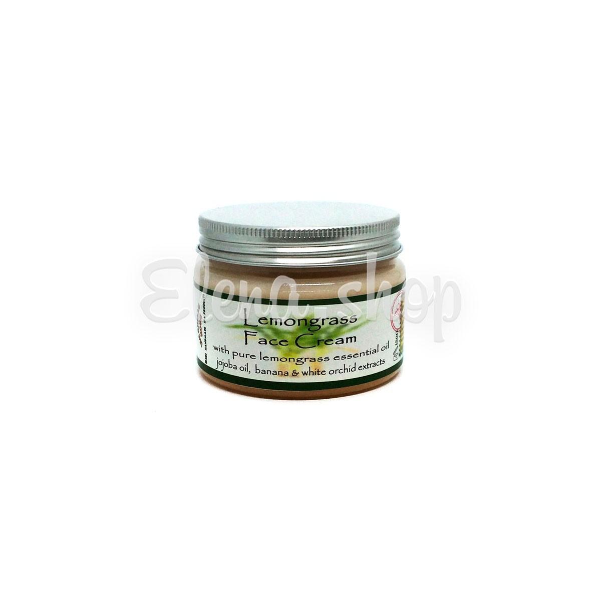 Крем для лица с эфирным маслом Лемонграсса от Lemongrass House