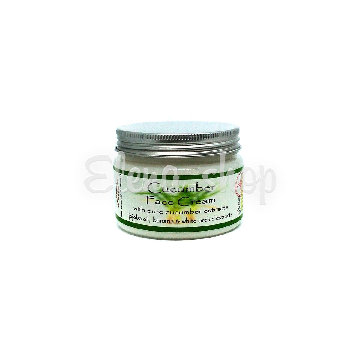 Крем для лица с экстрактом Огурца для жирной кожи от Lemongrass House