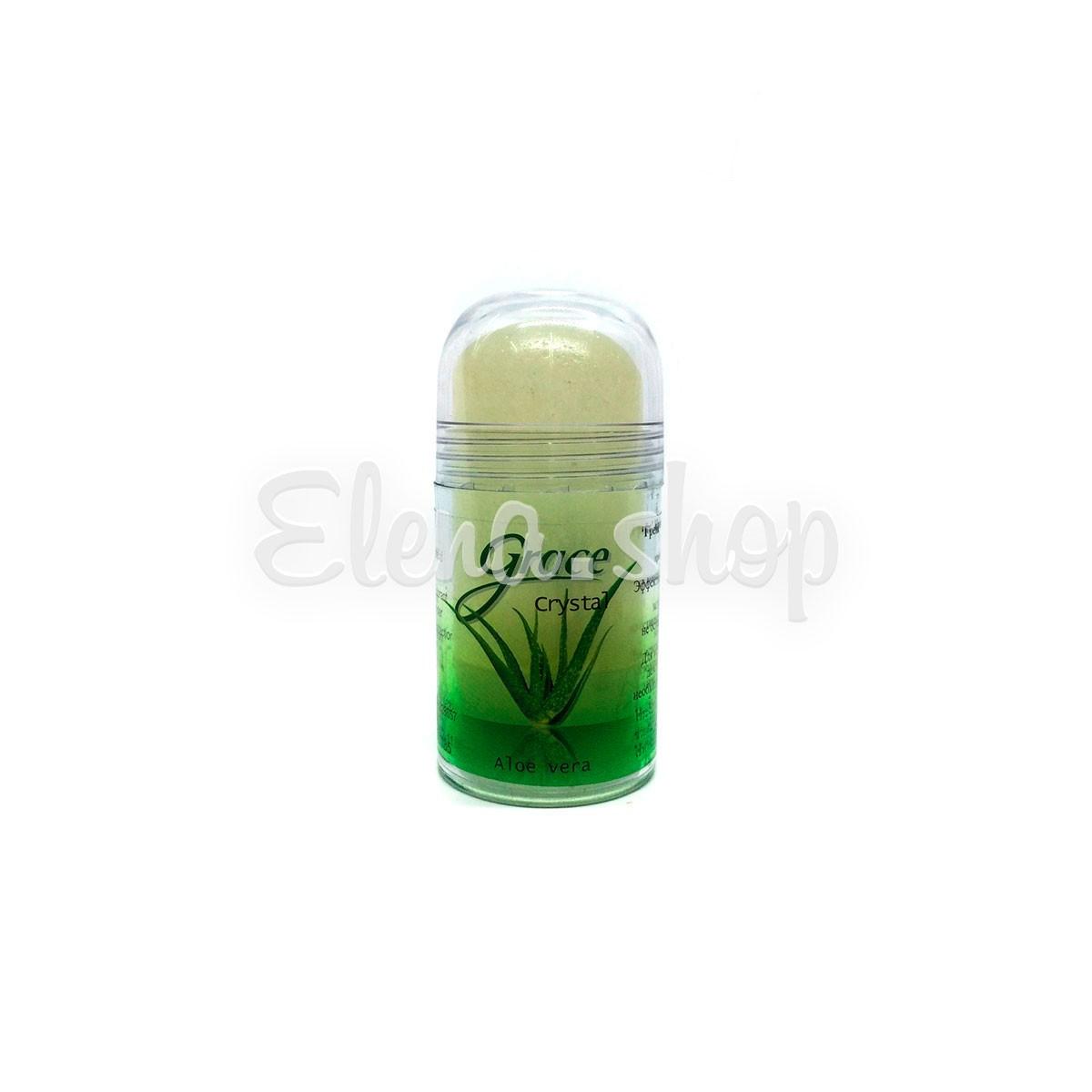 Натуральный дезодорант с экстрактом Алое Вера Grace Crystal
