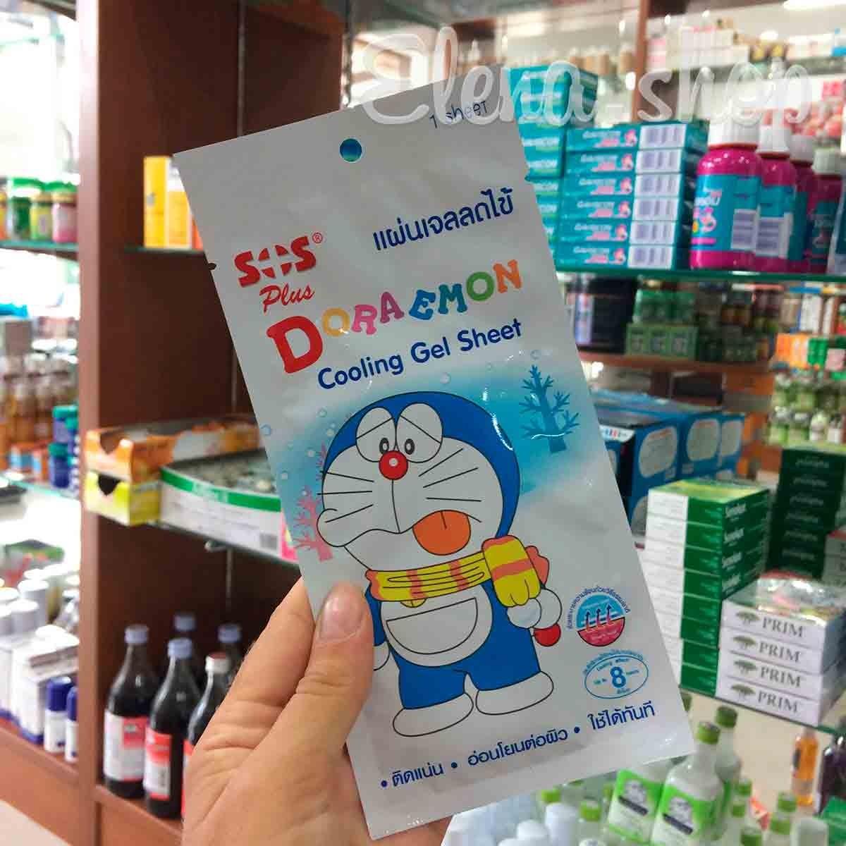 Охлаждающий пластырь Doraemon
