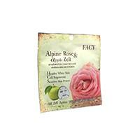 Отбеливающая тканевая маска для лица Facy со стволовыми клетками альпийской розы