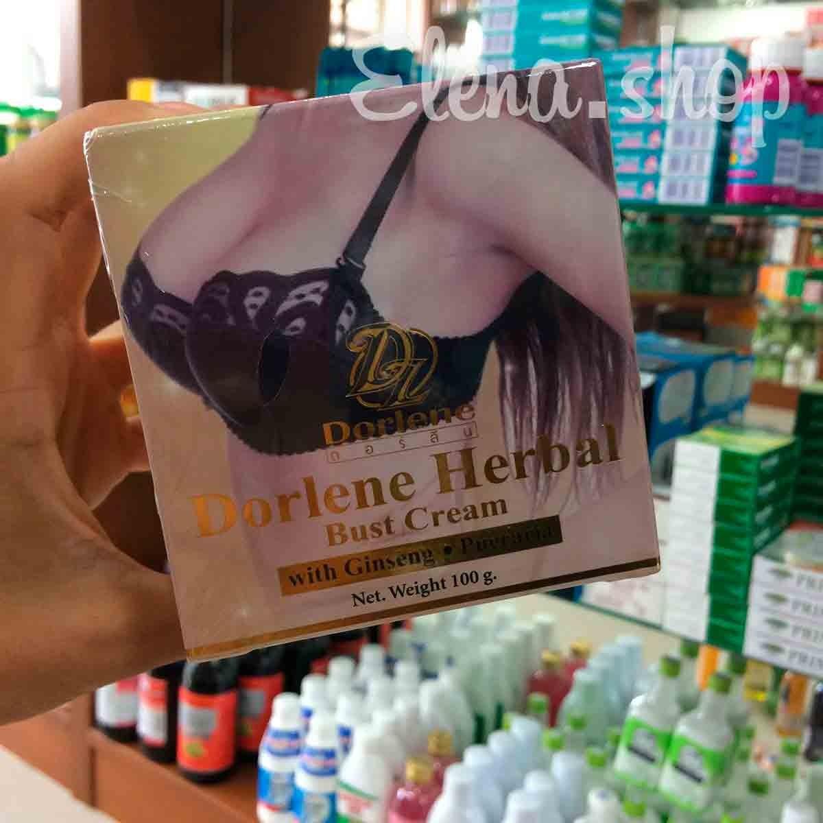 Укрепляющий крем для груди с экстрактом Женьшеня и Пуэрарии Мирифика от Dorlene