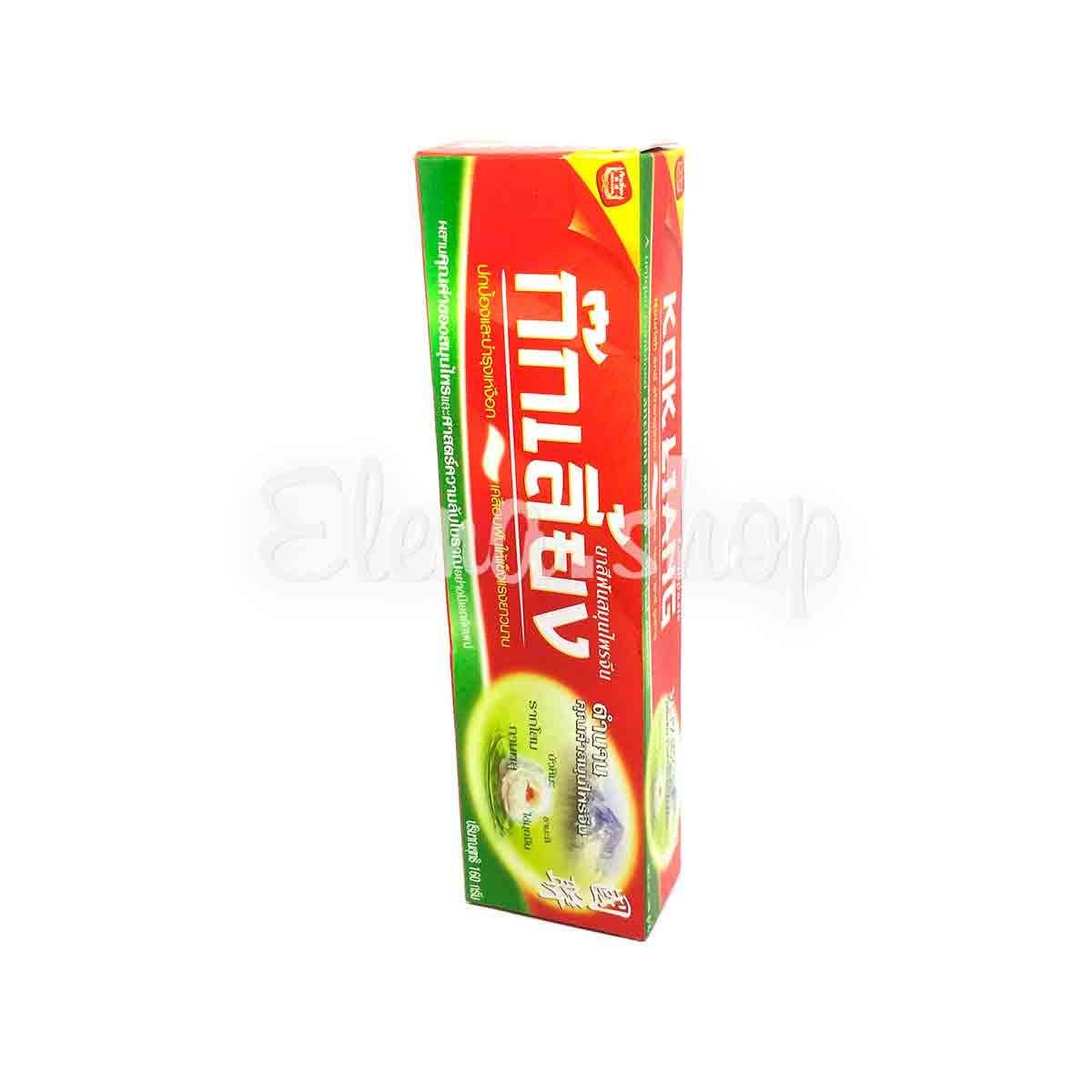 Натуральная травяная зубная паста Kokliang