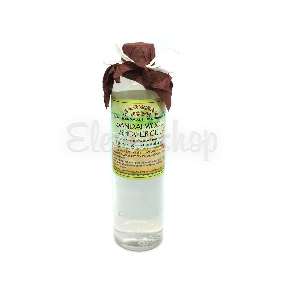 Гель для душа с сандаловым деревом Lemongrass House