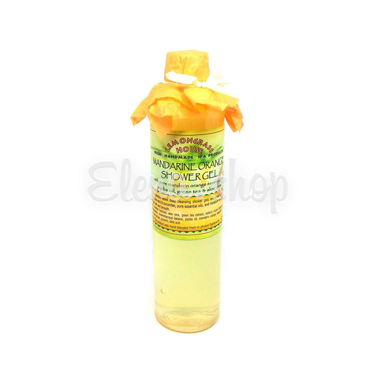 Гель для душа с эфирным маслом Мандарина Lemongrass House