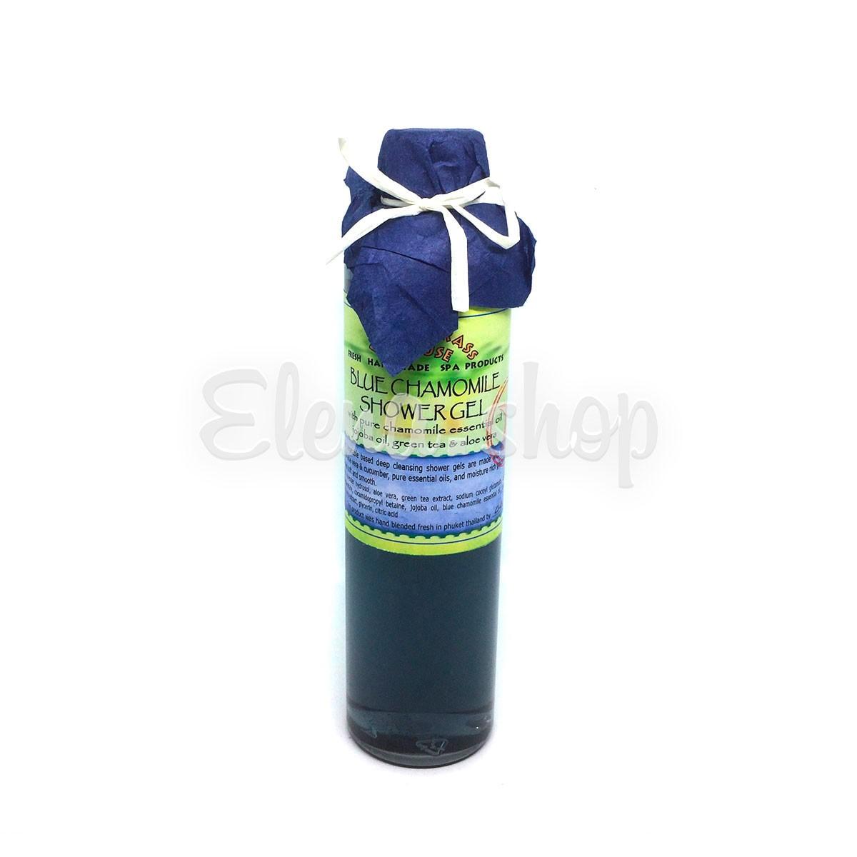 Гель для душа с эфирным маслом Голубой Ромашки Lemongrass House
