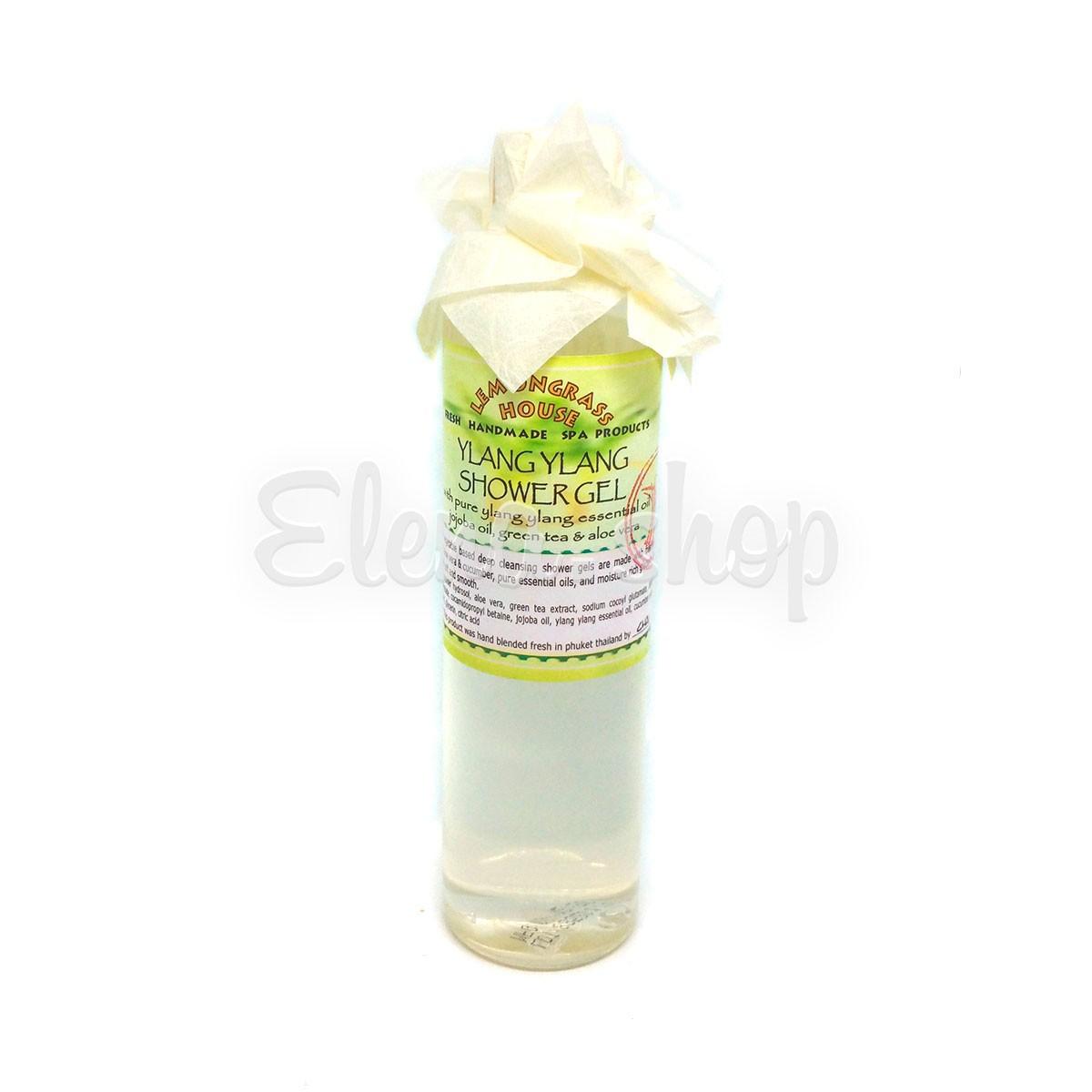 Гель для душа с эфирным маслом Иланг-Иланга Lemongrass House