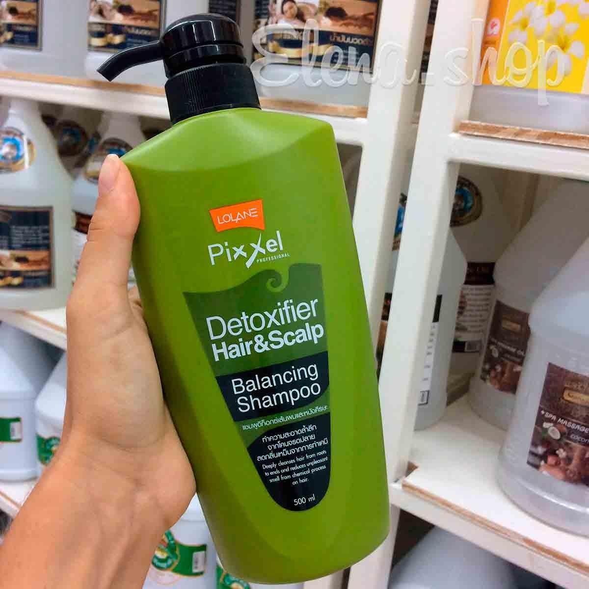 Питательный шампунь для блеска и свежести волос от Lolane Pixxel
