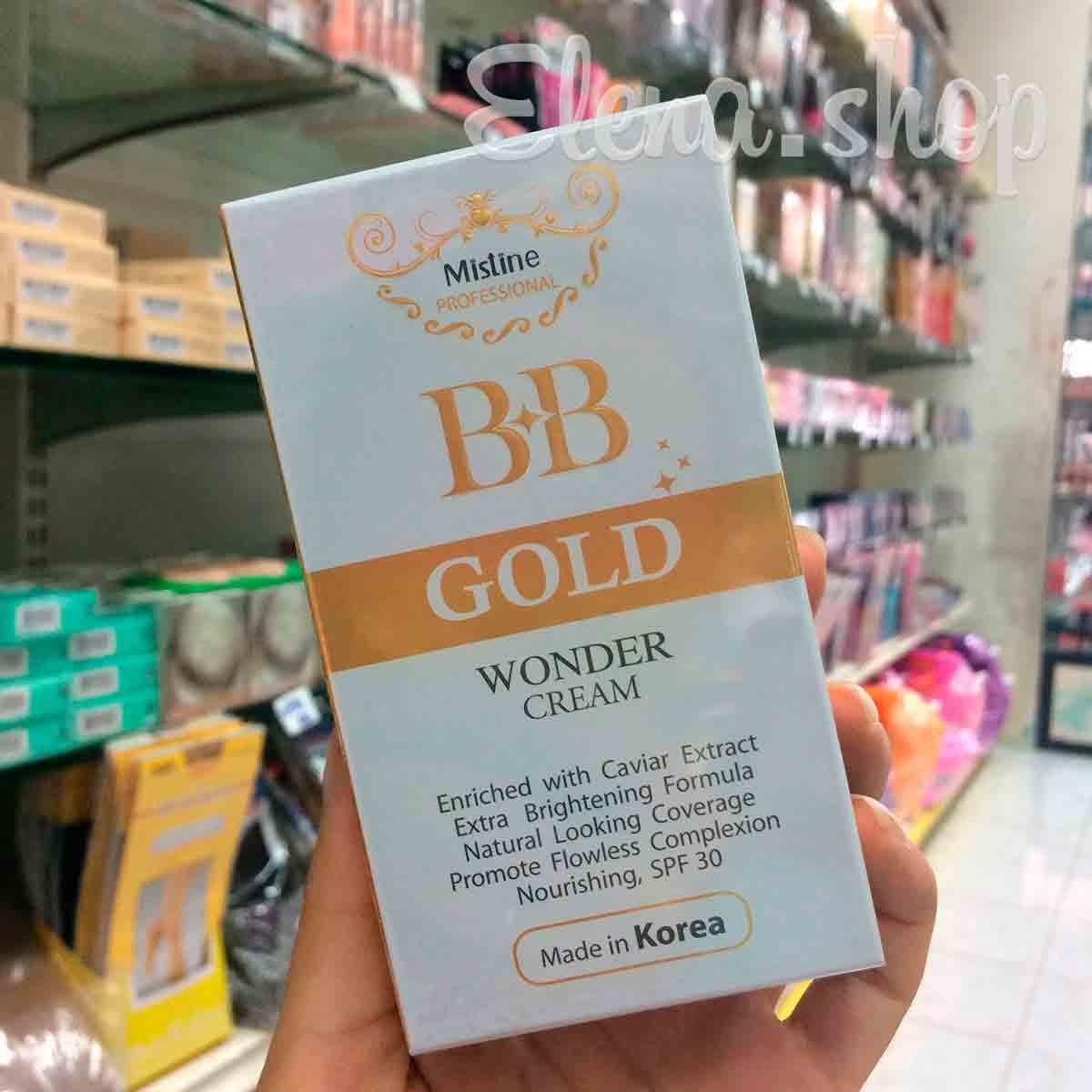 BB крем на основе черной икры Gold wonder Mistine