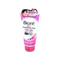 Пенка для умывания с гиалуроновой кислотой Biore 2 в 1 Makeup Remover Foam