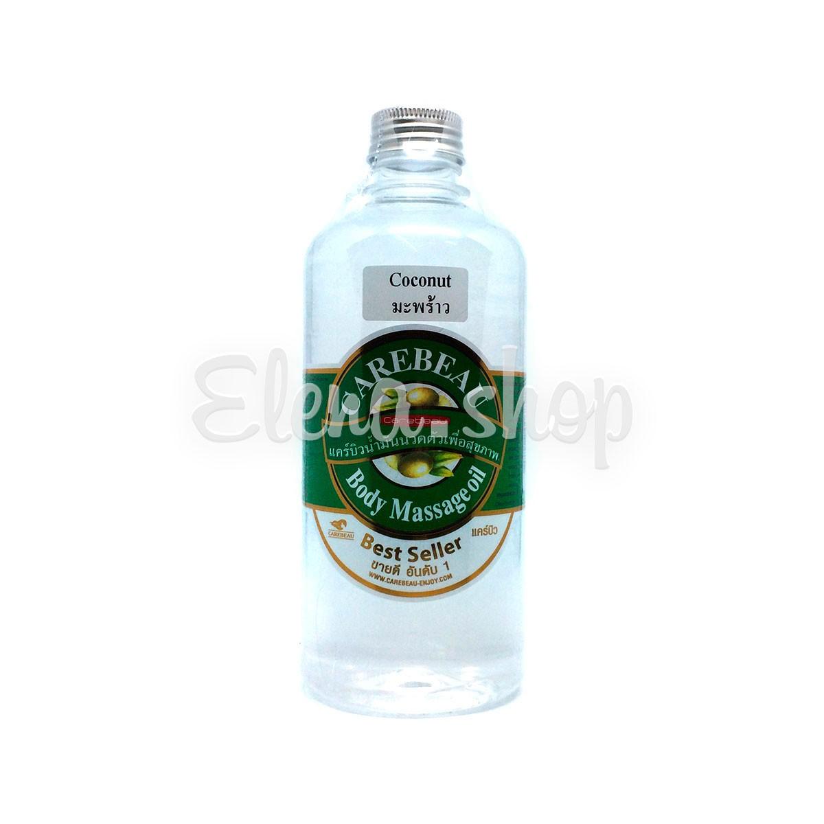 Массажное масло для тела с кокосом Carebeau